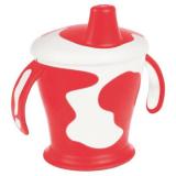 Canpol чашка-непроливайка с ручками Little cow 250 мл 31/404, 9+)