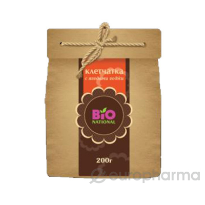 Bio National клетчатка с ягодами годжи в эко упаковке,200 гр