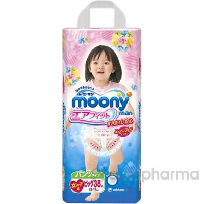 Moony трусики  для девочек B38, (12-17кг)