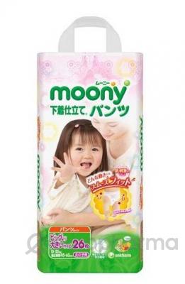 Moony трусики для девочек SB26, (13-25 кг)