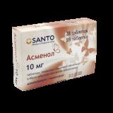 Асменол 10 мг № 28 табл. жев.