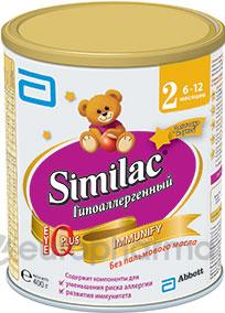 Симилак Гипоаллергенный 2 с 6 до 12 месяцев 400 гр