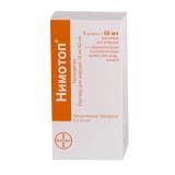 Нимотоп 10 мг, 50 мл, №1, фл.