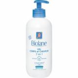 Biolane гель для тела и волос 2в1 350 мл с дозатором