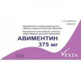 Авиментин 375 мг №6,табл
