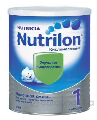 Nutricia смесь Кисломолочная1 для детей с 0 месяцев 400 г