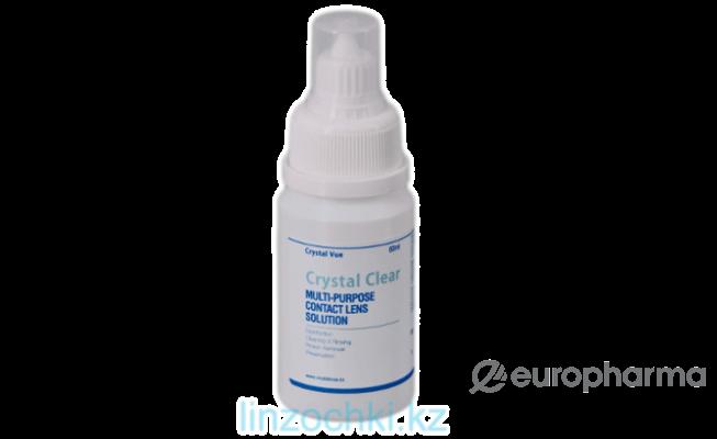 Раствор для контактных линз Cristal Clear 60мл