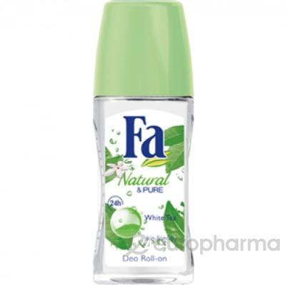 """Fa Roll-On дезодорант роликовый """" Природная свежесть, белый чай"""" 50 мл"""