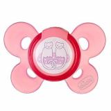 Chicco пустышка силикон Comfort Soother  4+ розовая