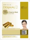 Dermal маска коллагеновая эссенция с экстрактом золота