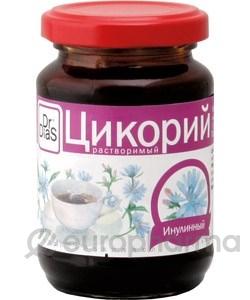 DrDias цикорий инулинный растворимый банка/твист жидкий 200 гр