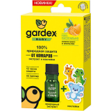 """Gardex baby природная защита от комаров """"Экстракт и наклейки"""""""