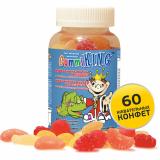 Gummi King Мультивитамины и минералы с волокнами №60