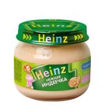 Heinz пюре нежная индеечка стекло 80 г