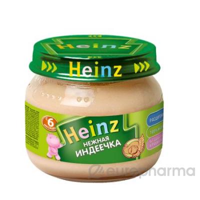 Heinz пюре нежная индеечка для детей с 6 месяцев 80 г