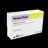 Телзап плюс 40 мг/12,5 мг № 30 табл