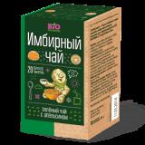 Вio National чай имбирный зеленый с апельсином 1,7 г №20 пак