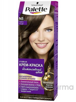 """Palette ICC N5 краска для волос """"Темно-русый"""""""