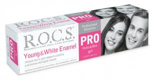 """ROCS зубная паста PRO Young """"White Enamel"""" 135 гр"""