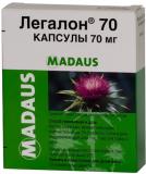 Легалон 70 мг, №60, капс.