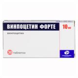 Винпоцетин форте Канон 10 мг №30 табл