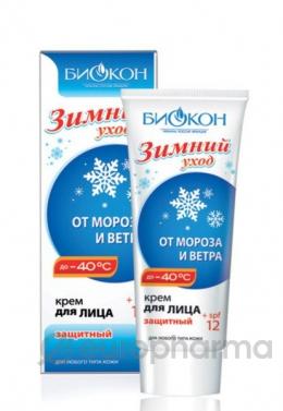 Биокон Крем для лица защитный Зимний уход 60 мл