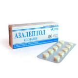 Азалептол 0,1 гр, №50, табл.