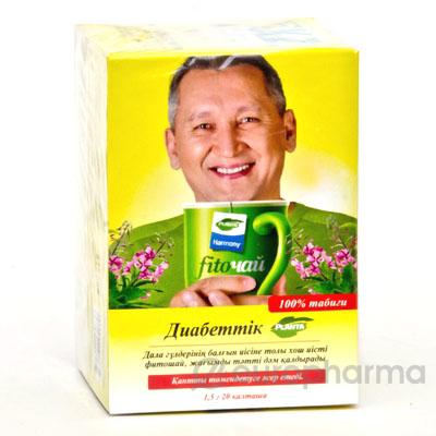 Диабетический 1,5 гр №20 фито-чай, Planta HARMONY