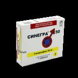 Синегра 50 мг № 1 табл п/плён оболоч