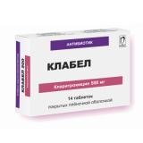 Клабел 250 мг, №14, табл.