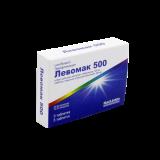 Левомак 500 мг № 5 табл п/плён оболоч