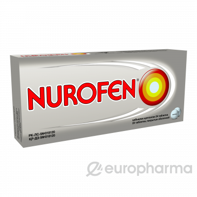Нурофен 200 мг, № 24, табл.