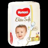 Huggies Подгузники Elite Soft 4 Conv 19*8