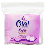 OLA SILK SENSE Вата на палочках в полиэтиленовой упаковке 100 шт