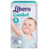 Libero Подгузники Сomfort Maxi 4 №20 (3580)