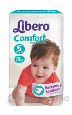 Libero Подгузники Сomfort  Maxi plus  5 №18 (3585)