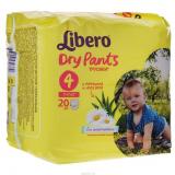 Libero Подгузники Dry Pants 4 №20 (3867)