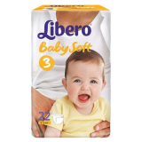 Libero Подгузники Baby soft Midi 3 №22 (4635)