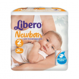 Libero Подгузники Newborn 2 №26 (6353)