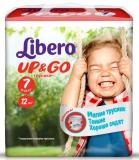 Libero Подгузники Up & Go  XL+ 7 №12 (5583)