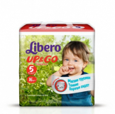 Libero Подгузники Up & Go maxi plus 5 №16 (5586)