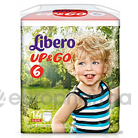 Libero Подгузники Up & Go  XL 6 №14 (5587)