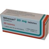 Нитресан 20 мг, №30, капс.