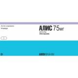 Алис 75 мг, №14, капс.