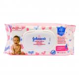 Johnson's baby салфетки нежная забота № 64 шт
