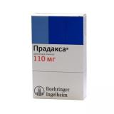 Прадакса 110 мг, №10, капс.