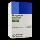 Прадакса 150 мг № 60 капс , шт