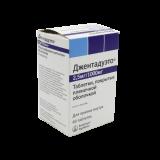 Джентадуэто 2,5 мг/1000 мг № 60 табл п/плён оболоч