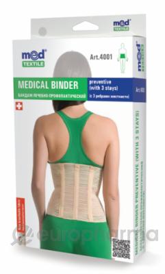 Бандаж лечебно-профилактический МеdTextile арт 4001,L