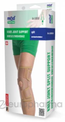 Бандаж на коленный сустав разъемный (неопреновый) МеdTextile арт 6058 S/M